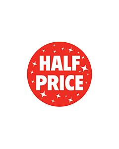 Christmas Half Price Stickers