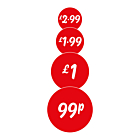 Red 25mm Price Labels