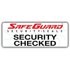 SafeGuard Security Checked Labels 122x45mm
