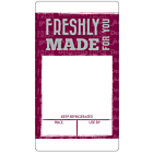 Burgundy Sandwich Label A4 Sheets