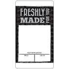 Black Sandwich Label A4 Sheets