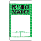 Orange Sandwich Label A4 Sheets