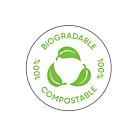 100% Compostable Labels