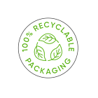 100% Recyclable Packaging Labels