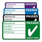 3rd Edition PAT Test Passed Labels 50x25mm