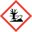 GHS & CLP Environmentally Hazardous Labels 100x100mm