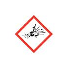 GHS & CLP Explosive Labels 20x20mm