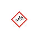 GHS & CLP Explosive Labels 10x10mm