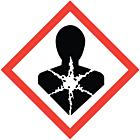 GHS & CLP Health Hazard Labels 100x100mm