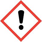 GHS & CLP Irritant Labels 100x100mm
