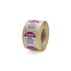 Allergen Nuts Labels 25mm Permanent