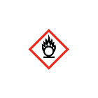 GHS & CLP Oxidiser Labels 10x10mm