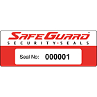 SafeGuard Numbered Security Labels 122x45mm