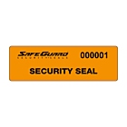 SafeGuard No Residue Seal Labels 125x35mm