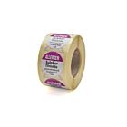 Allergen Sulphur Dioxide Labels 25mm Permanent