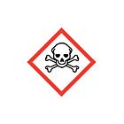 GHS & CLP Toxic Labels 20x20mm