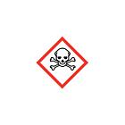 GHS & CLP Toxic Labels 10x10mm