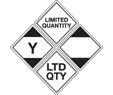 Limited Quantity Labels