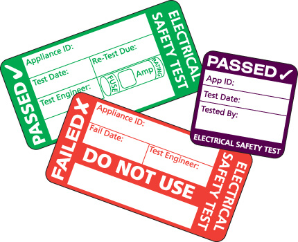 PAT Test Labels